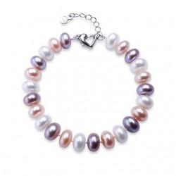 Bratara Pearls Festival - argint si perle de cultura