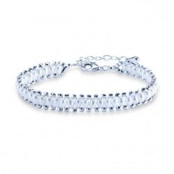 Bratara Exquisite Pearls - argint si perle de cultura