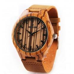 Ceas barbates  din lemn de bambus M5