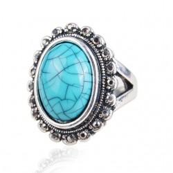 Inel Ellipse - marcasite si cristale