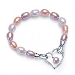 Bratara Charming Pearls - argint si perle de cultura