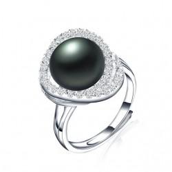 Inel Perle Model 3 - argint si perle de cultura