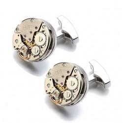 Butoni camasa cu mecanism de ceas M2
