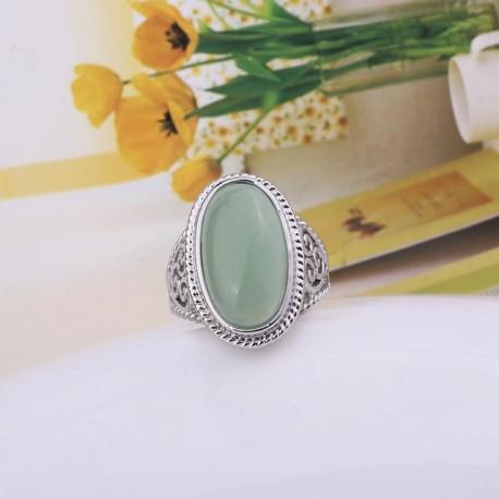 Inel Opalia - argint si opal