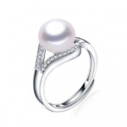 Inel Perle Model 2 - argint si perle de cultura