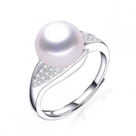 Inel Perle Model 6 - argint si perle de cultura