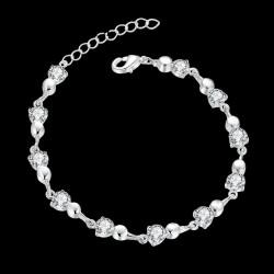 Bratara Charming - argint si cristale Cubic Zirconia