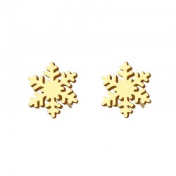 Cercei Snow Flake - inox