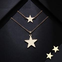 Set bijuterii Star - inox