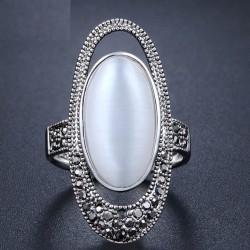 Inel Alissa - argint si cristale