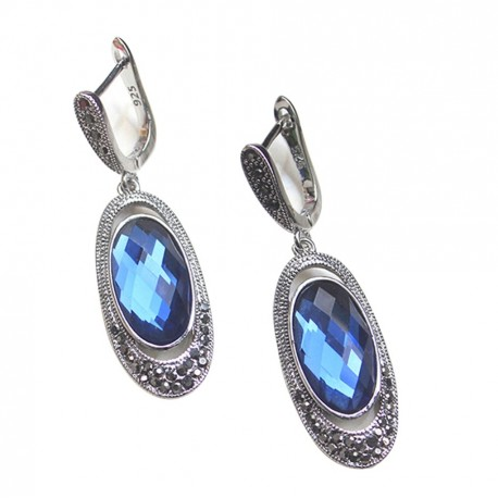 Cercei Blue Crystal