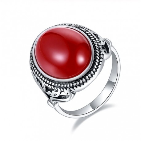 Inel Red Resin
