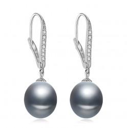 Cercei Perle Model 14 - argint si perle de cultura