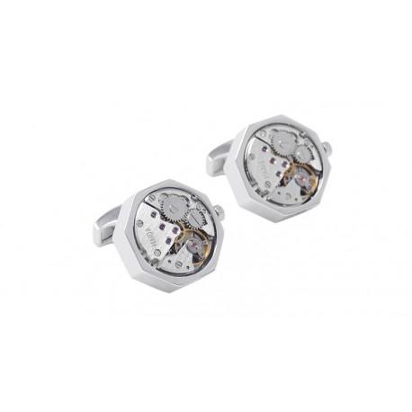 Butoni camasa cu mecanism de ceas M4